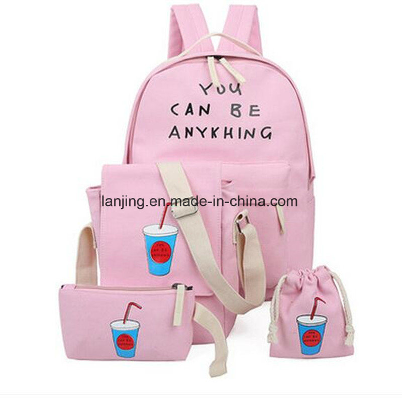 Bw1-058 Women′s Multifunction Backpack Bags Handbags for School Backpack Sets