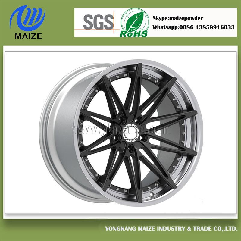 Silver Plastic Powder for Wheel Hub