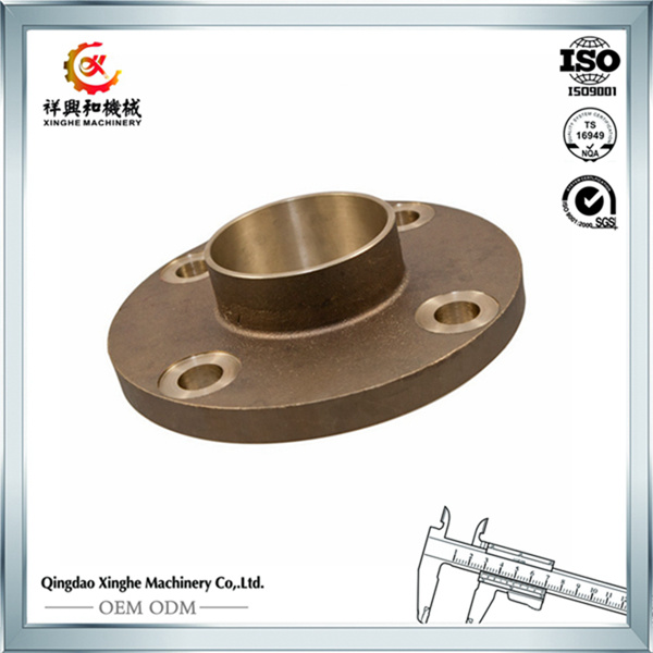 OEM SUS405 Pipe Fittings/Steel Flange with Polishing
