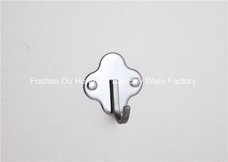 Stainless Steel Single Coat Hanger for Bathroom