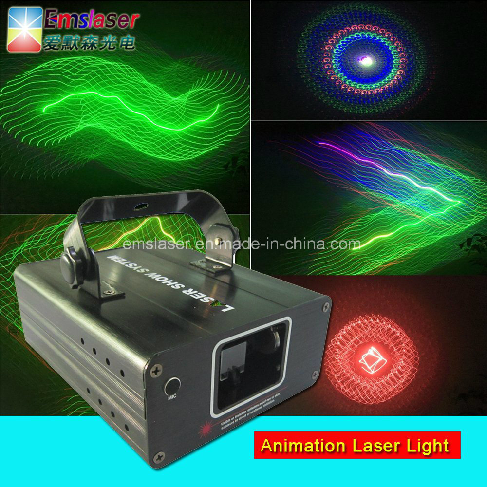Mini RGB Animation Laser Light Disco Stage Beam Light