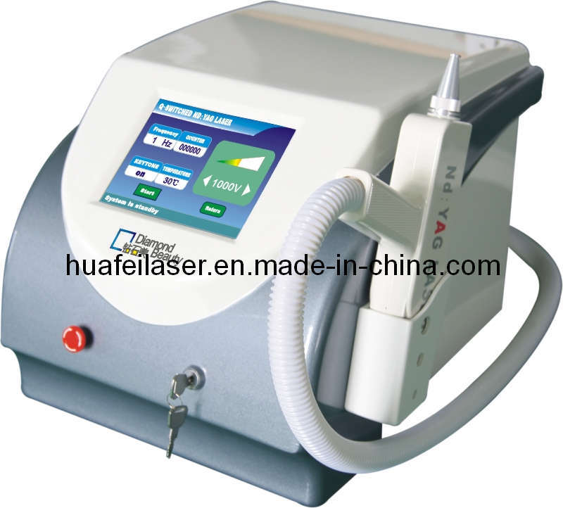 portable Nd yag laser tattoo removal machine; Beauty equipment 1.