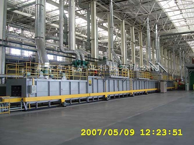 Powder Coating Oven (Industrial Furnace)