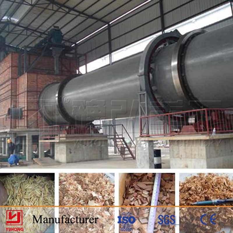 Yuhong Rotary Dryer Machine for Sawdust/Woodchips Drying
