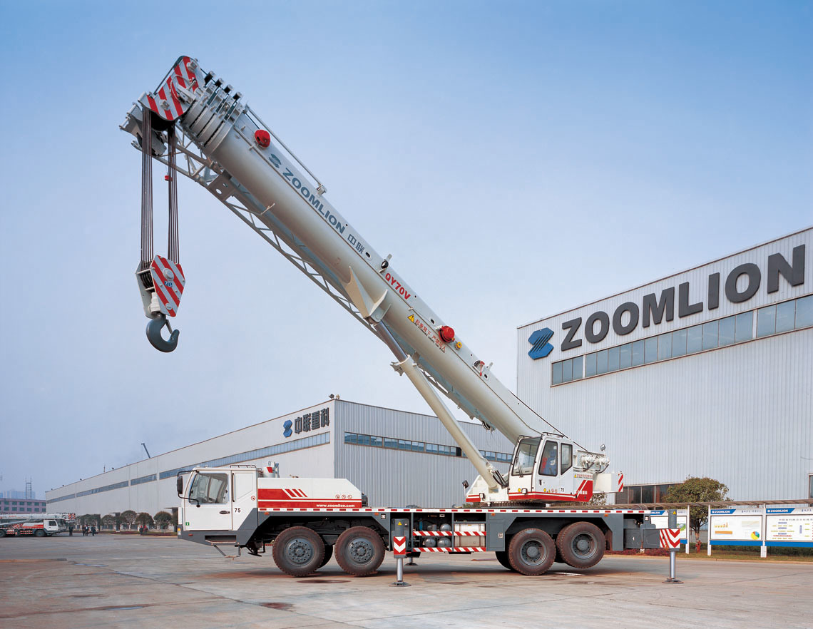 China Zoomlion Mobile Truck Crane 90ton Qy90v633 Photos