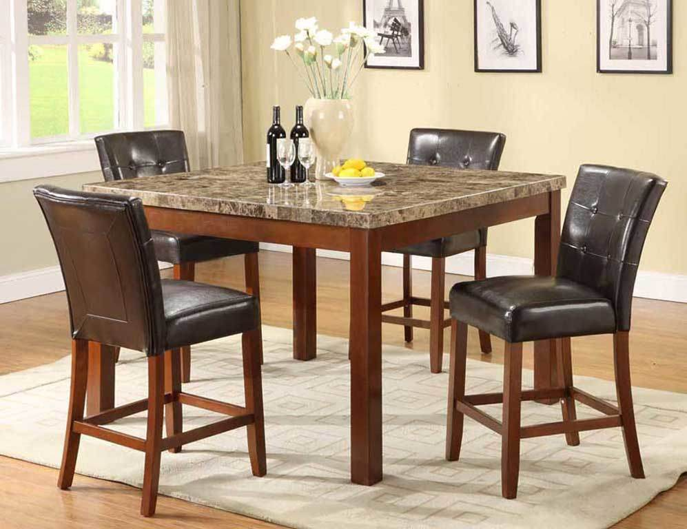 Counter height dining room table sets - Height dining room table ...