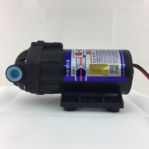 E-Chen 802 Series 50gpd Compact Diaphragm RO Booster Water Pump