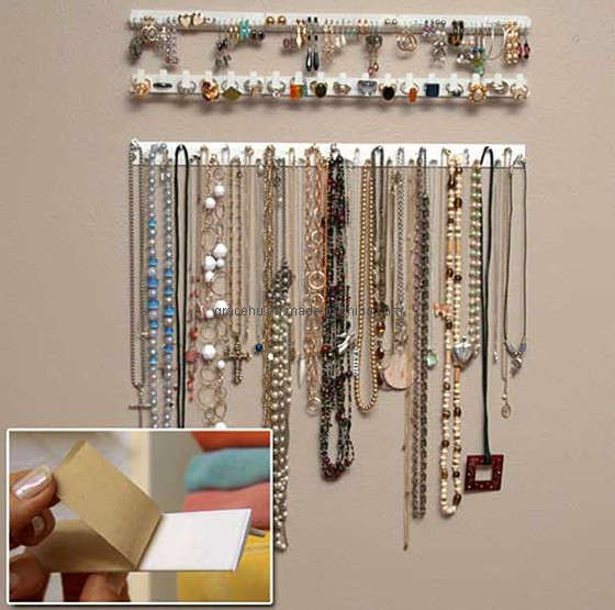 China hanging jewelry organizer 6104 china hanging for Fabriquer un porte bijoux mural