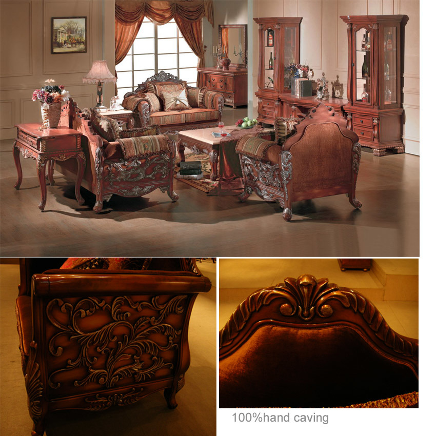 China sitting room furniture china sofa classical sofa - Sitting room furnitures ...