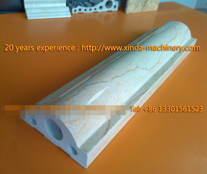 PVC Imitation Marble Profile Making Machinery Marble
