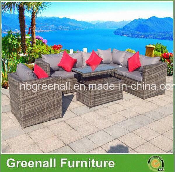 2016 New Design Outdoor Rattan/Wicker Sofa Leisure Garden Furniture