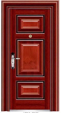 Waterproof Noiselessly Anti-Theft Steel Door (iron door)