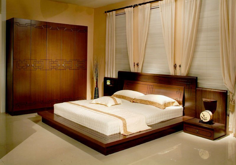 China New Classic Wooden Bed In Wooden Bedroom Set 803 China Wooden Bed Elegant Wooden Bed