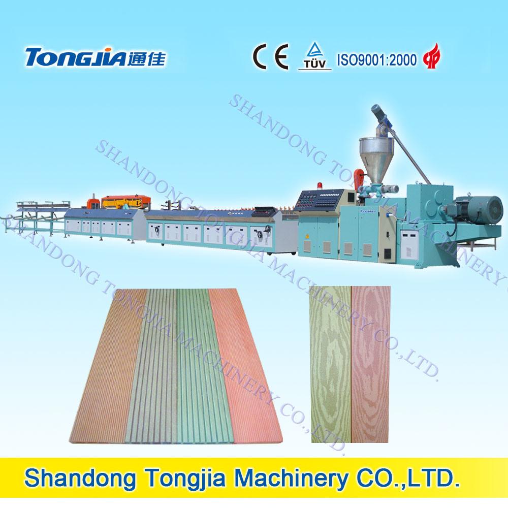PP PE Wood Plastic Floor Extrusion Extruder Machine