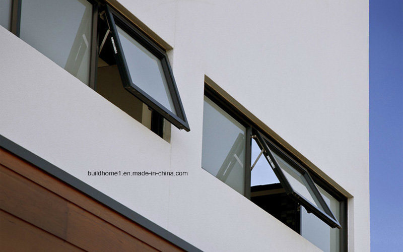 Unique Alumminium Glass Windows with Double Glazings