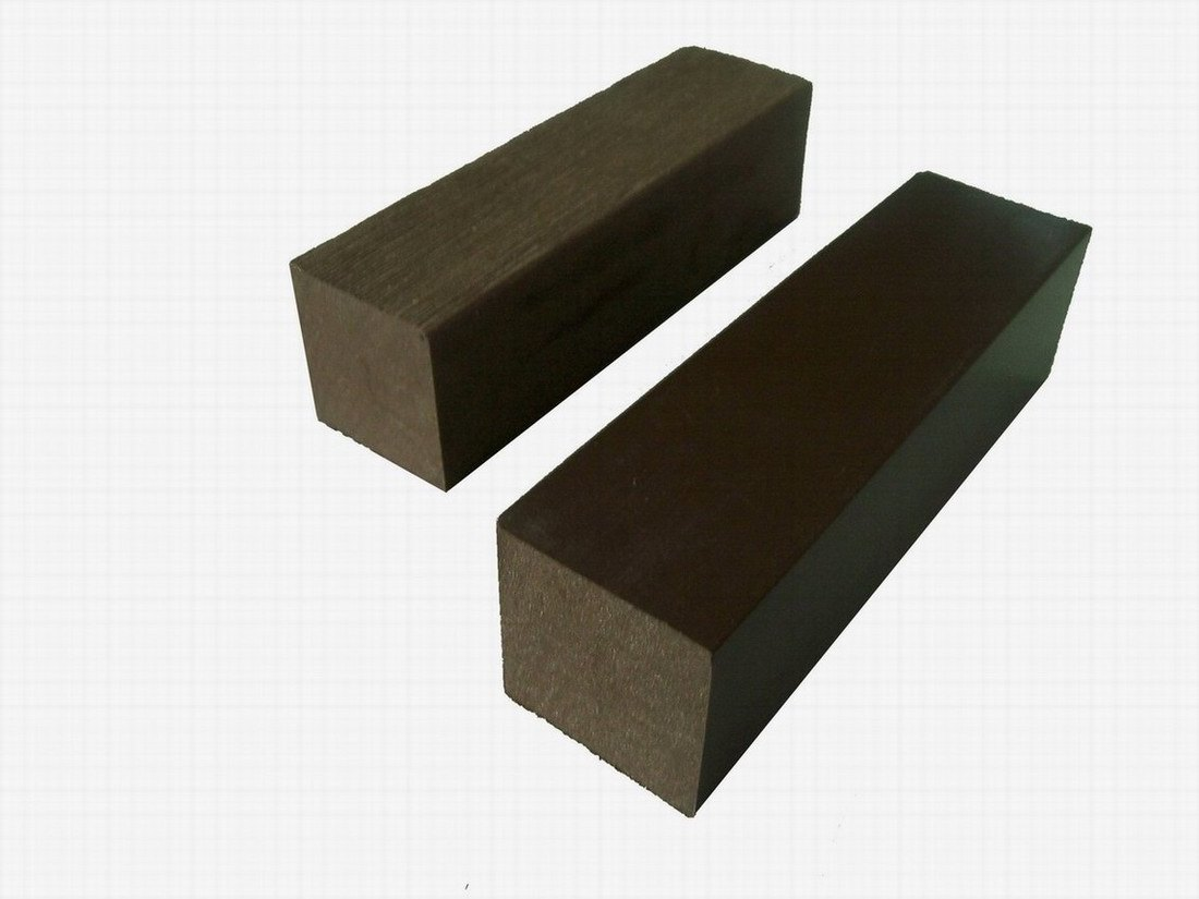 China wood plastic composite decking joist hd224 china for Plastic composite decking