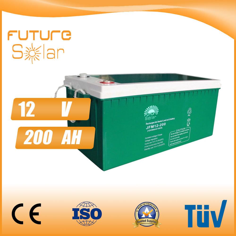 Futuresolar Storage System 12V 200ah Deep Cycle Solar Battery