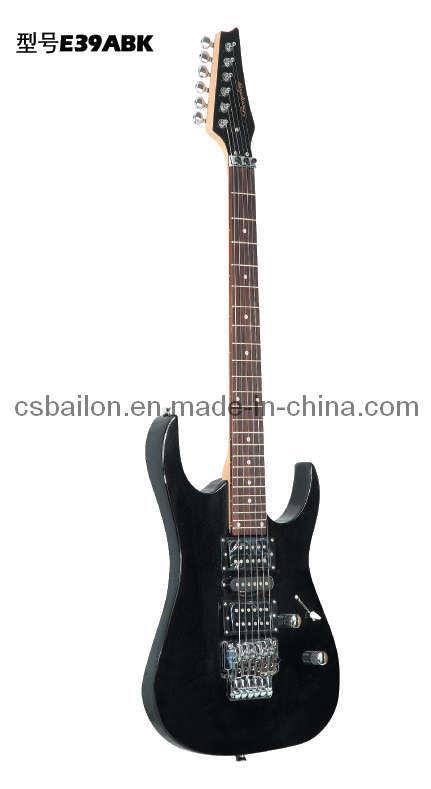 39′′ Electric Guitar (BLE39ABK)