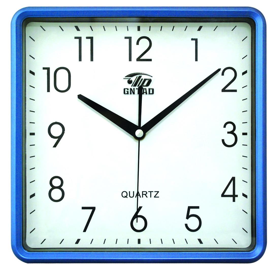 China 10 Inches Square Wall Clock 2842 China Wall Clock