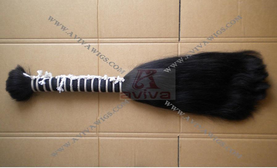 Double Drawn Human Hair Bulk (AV-H010)