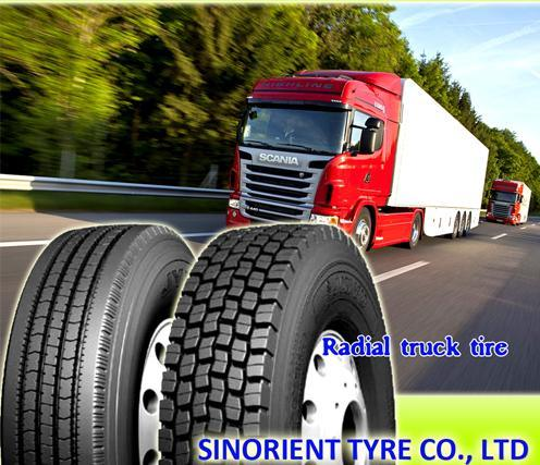 Radial Heavy Duty Truck Tire (504/512/707/518/588/728)