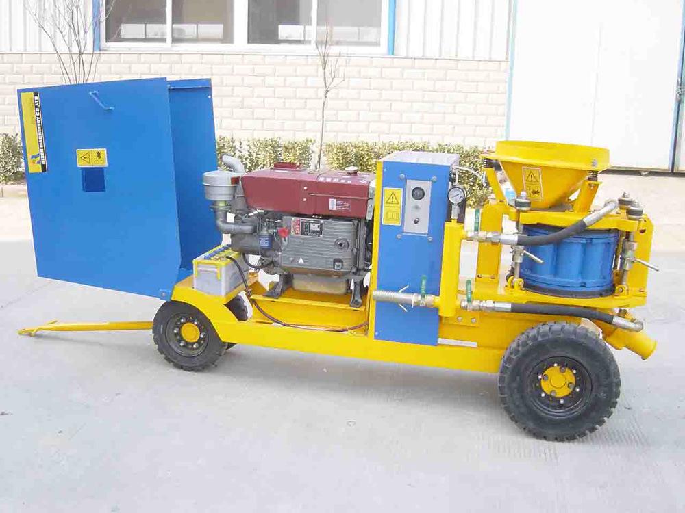 Risen Diesel Driven Shotcrete Machine (PZ-9D)