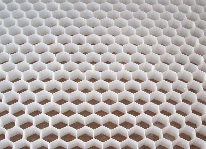 China Plastic Grid China Plastic Gravel Grid Pp Hexagon
