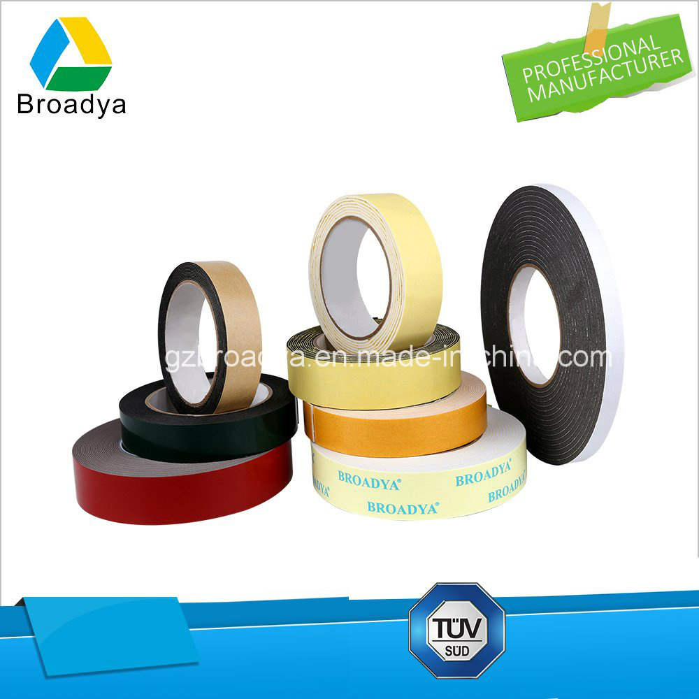 Double Sided PE Foam Tape Manufacturer in Guangzhou China (BY1510)