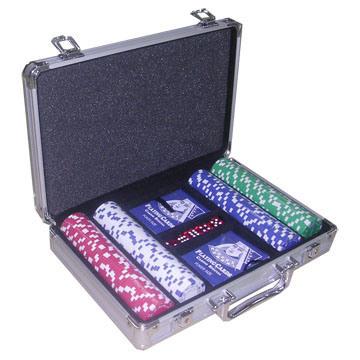 Poker chip case 200 set cs302 china poker chip case case