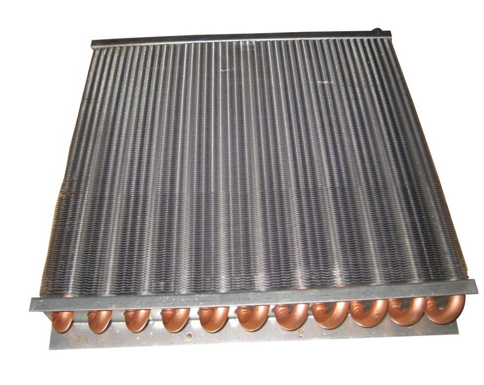 China Copper Tube Aluminium Fin Condenser Photos ...