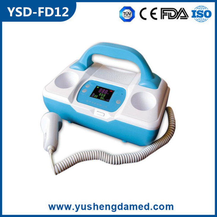 Hot Sale High Quality LCD Display Portable Fetal Doppler