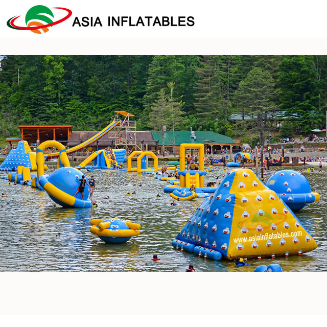 Floating Water Park Giant Inflatable Aqua Fun Park