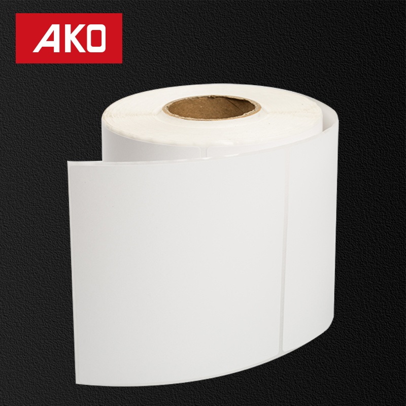 70g Imported Thermal Coated Paper Layer Holt Melt for Low Temperature 50g Glassine Liner Self Adhesive Sticker