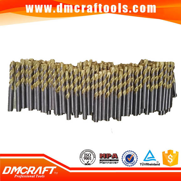 Gold and White Masonry Drill Bits