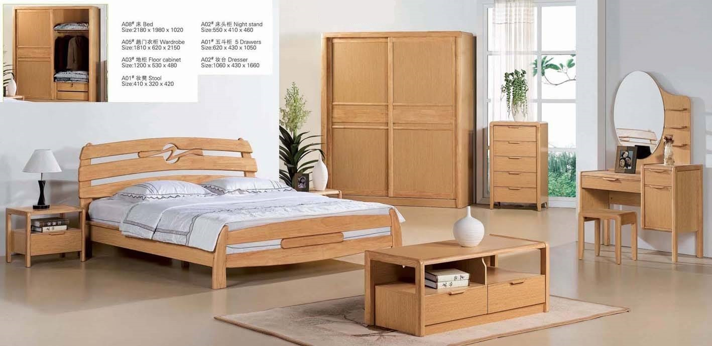 Melamine Bedroom Furniture Solid Wood Particle Board With Melamine Bedroom Sets Bed Desk