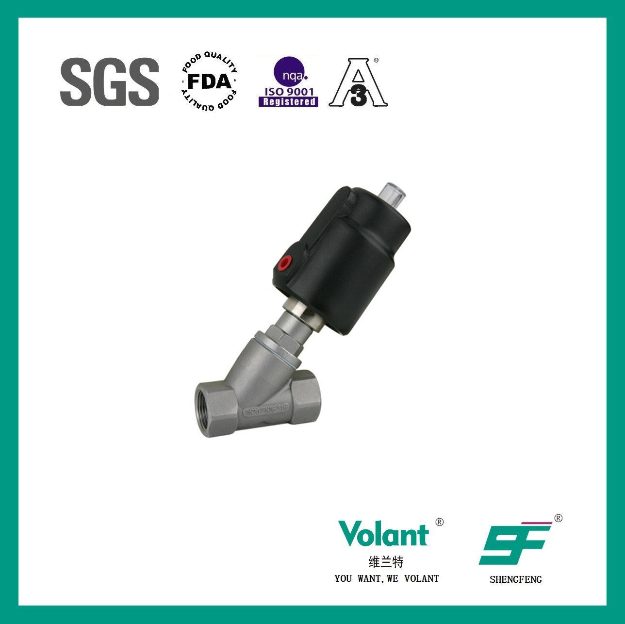 Stainless Steel Valve of Angle Valve