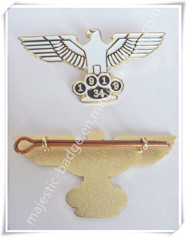 Zinc Die Cast Soft Enamel & Gold Plating Lapel Pin