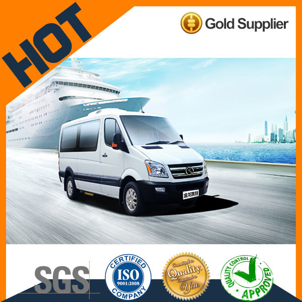 Diesel Chinese Brand High Roof Kingo 9-19 Seats Mini Van Bus for Sale