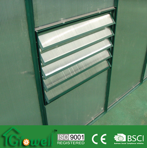 Louver Side Vents for Greenhouse Accessories