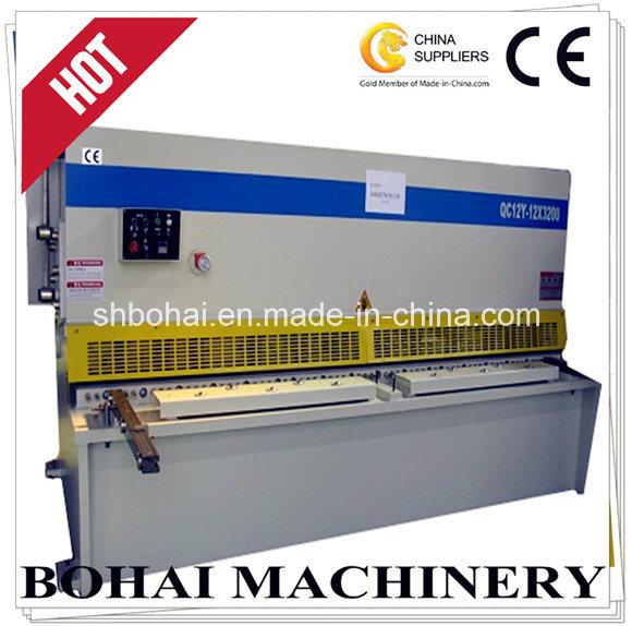 Hydraulic Swing Beam Shear QC12y-12*3200 Hydraulic Shearing Machine