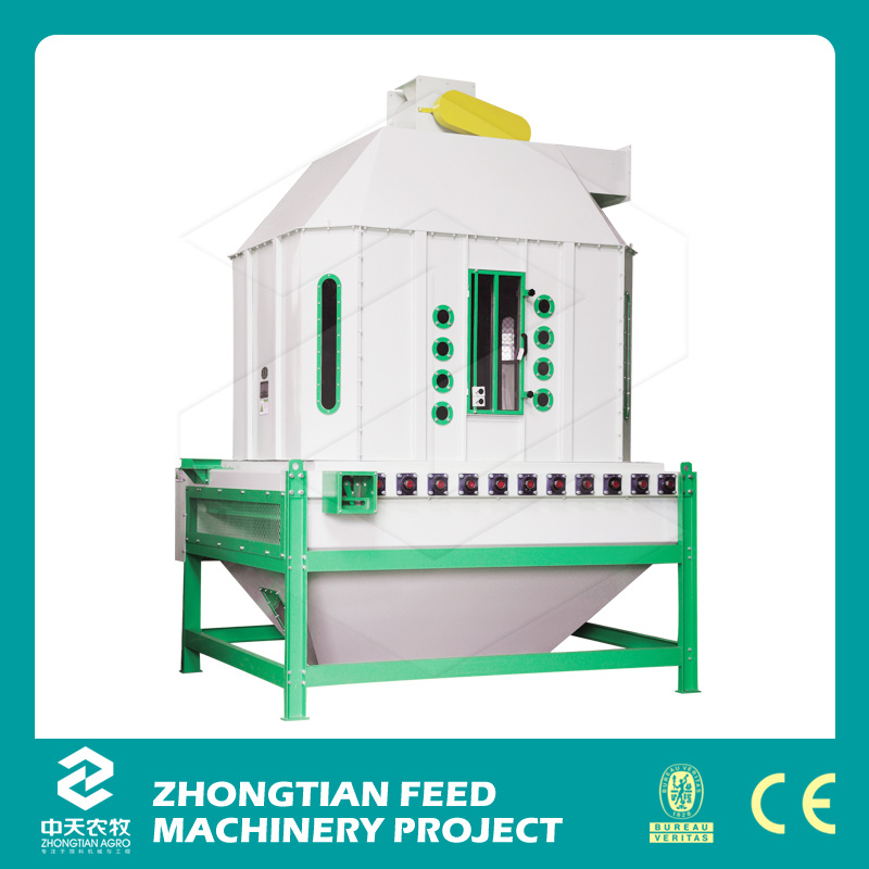 2016 New Animal Feed Making Counter Flow Cooler Machine