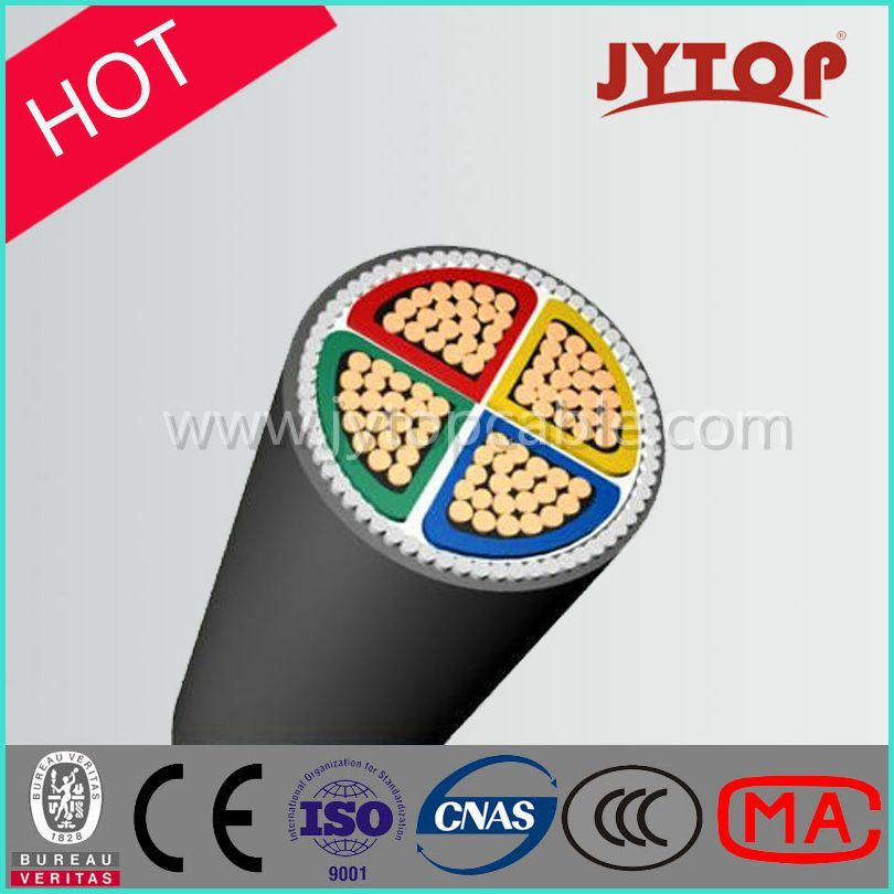 0.6/1kv 4core XLPE Insulation Copper Cable with Steel Armoured Cable
