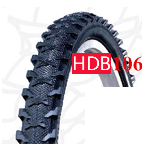 Eco Friendly Rubber New Design Bicycle Tires 26′′