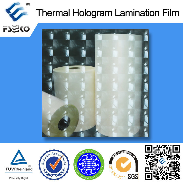 Holographic Thermal Laminating Film for Cosmetic Box (38mic BH-5)