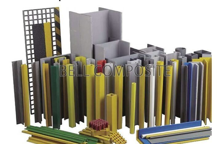 FRP Pultrusion Profiles/Rod/Tube/Bar/Angle/Flange/Beam/Channel/Panel/Strip