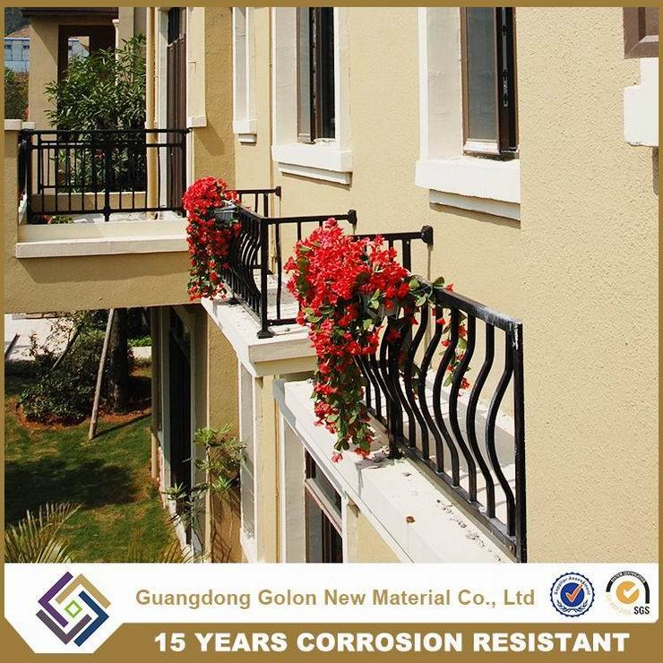 Customized Wrought Iron Balcony Railing