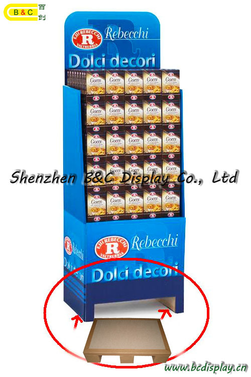 Multifunction Usage Counter Display, Pop Stand, Cardboard Display with SGS (B&C-A090))
