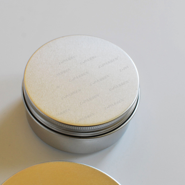 Customize Aluminum Jar for Cosmetic Packaging (PPC-AJ-001)