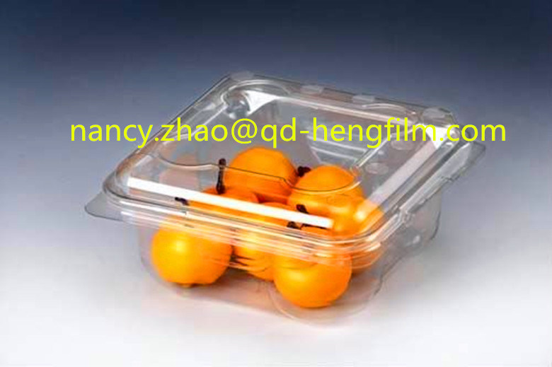 Vacuum Thermoforming White PVC Rigid Film for Food Packing