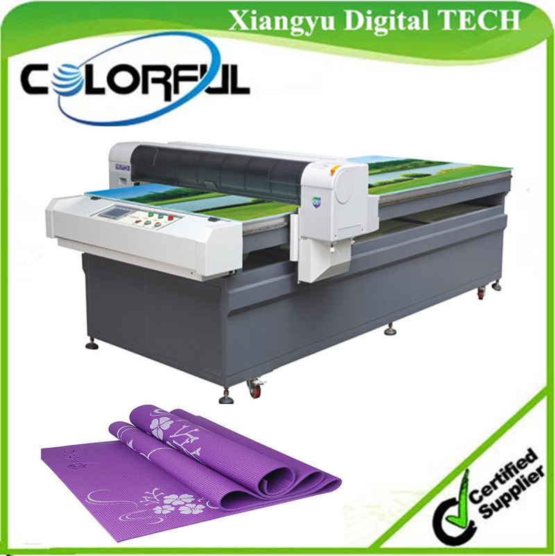 T Shirt Flatbed Printer, Direct Inkjet Textile Digital Printing Machine (Colorful 1325)
